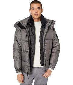 Sean John Hooded Double Collar Quilt