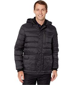 Kenneth Cole New York Hooded Puffer w\u002F Oversi