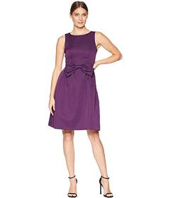 Tahari by ASL Faille Bow Dress