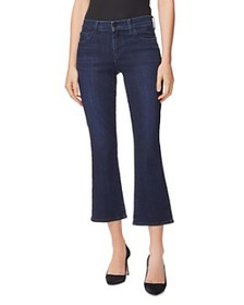 J Brand - Selena Mid Rise Cropped Bootcut Jeans in