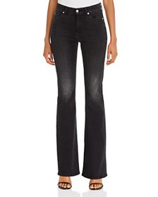 7 For All Mankind - Ali High-Waist Flared Jeans in