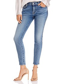 7 For All Mankind - Ankle Skinny Jeans in Luxe Vin