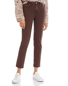 PAIGE - Hoxton Slim Jeans in Vintage Truffle