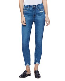 PAIGE - PAIGE Hoxton Ankle Skinny Jeans in Jazlyn
