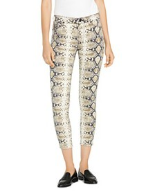 Hudson - Barbara High-Rise Ankle Skinny Jeans in P