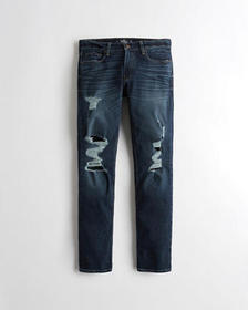 Hollister Hollister Epic Flex Slim Straight Jeans,