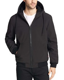 Levi's - Sherpa-Lined Hooded Bomber Jacket