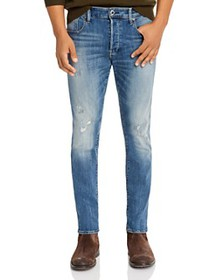 G-STAR RAW - 3301 Slim Fit Jeans in Antic Faded Ri