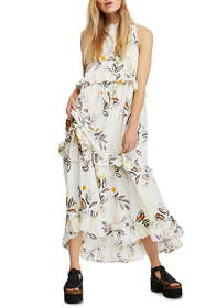 Free People Anita High/Low Maxi Dress