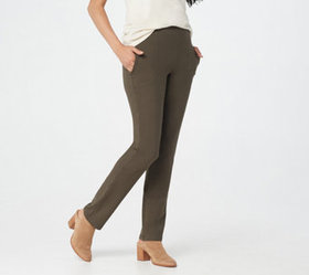 Women with Control Tall City Slim-Leg Pull-On Pant