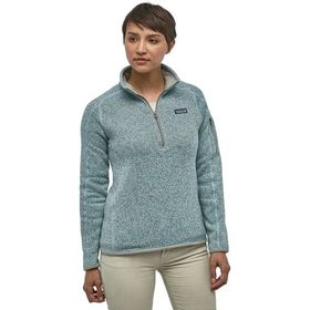 Patagonia Better Sweater 1/4-Zip Fleece Jacket - W