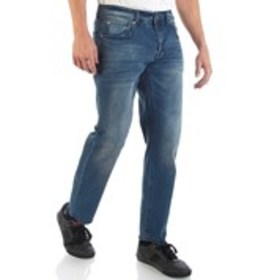MBX Mens Slim Straight Stretch Washed Jeans