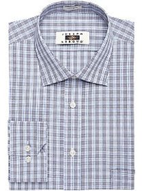 Joseph Abboud Slate & Blue Check Dress Shirt