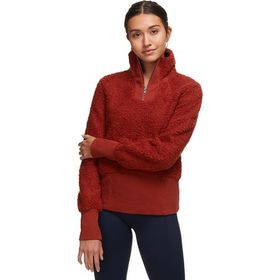 Basin and Range Cozy Teddy Sherpa 1/4-Zip Pullover