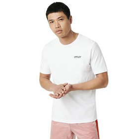 Oakley Back Ad Heritage Tee - White