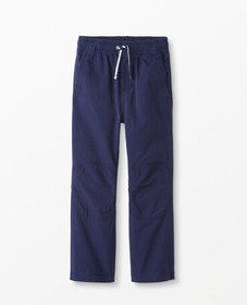 Hanna Andersson Double Knee Canvas Pants in Navy -