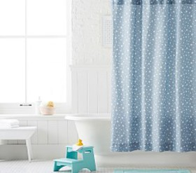 Pottery Barn Star Shower Curtain