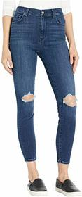 7 For All Mankind High-Waist Ankle Skinny in Authe