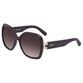 FerragamoBrown Gradient Sunglasses SF781S 604 56