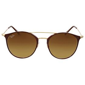 Ray BanBrown Gradient Cat Eye Sunglasses