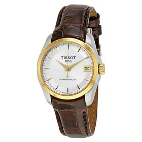 TissotCouturier Automatic Silver Dial Ladies Watch