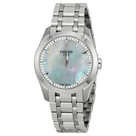 TissotCouturier Mother of Pearl Dial Stainless Ste