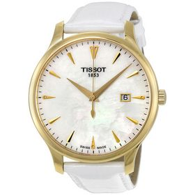 TissotTradition Mother of Pearl Dial Ladies Watch