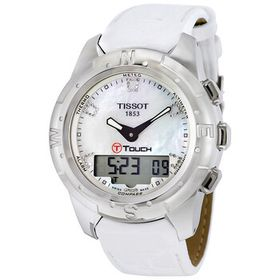 TissotT-Touch II White Mother of Pearl Ladies Watc