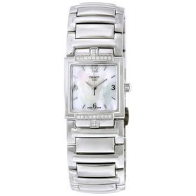 TissotT-Evocation White Dial Ladies Watch T0513106