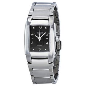 TissotT-Classic T10 Polished Stainless Steel Black