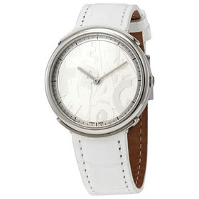 FerragamoLogomania Quartz White Dial Ladies Watch