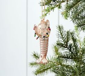 Pottery Barn Lobster in Tangled Lights Ornament