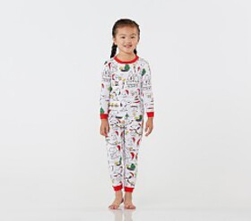 Pottery Barn Snoopy® Cotton Tight Fit Pajamas