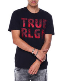 True Religion ss chain fashion crew neck tee