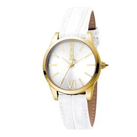 Just CavalliRelaxed Silver Dial Ladies Watch