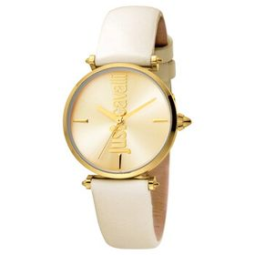 Just CavalliArmonia Quartz Gold Dial Ladies Watch
