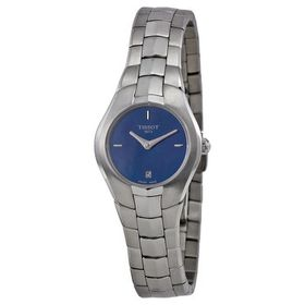 TissotT Trend T Round Blue Dial Stainless Steel La