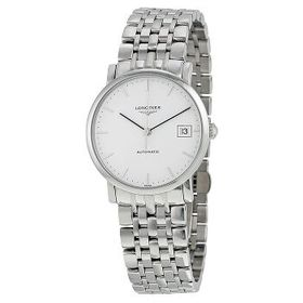LonginesElegant Automatic White Dial Ladies Watch