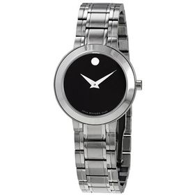 MovadoStiri Quartz Black Dial Ladies Watch
