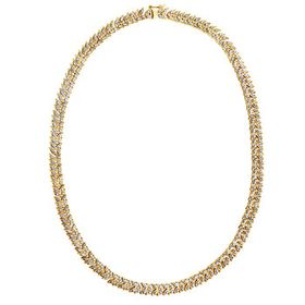 Morgan & Paige18k Yellow Gold Plated Sterling Silv