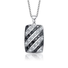 Megan WalfordSterling Silver with Black Plated and