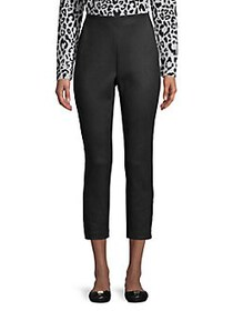 JONES NEW YORK Cropped Ponte Pants BLACK