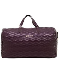 Allure Quilted Barrel Large Duffel, Created for Ma