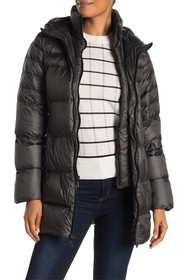 Vince Camuto Hooded Lightweight Down Jacket