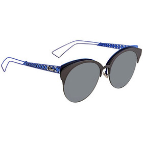 DiorDior Diorama Club Gray Ar Oval Men's Sunglasse