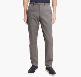 Johnston Murphy Regular Fit Garment Washed Chinos