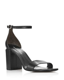 Alexander Wang - Women's Abby Leather Block Heel S
