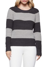 BCBGeneration Striped Crew Neck Sweater