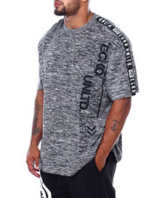 Ecko logical printed s/s knit (b&t)