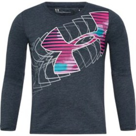 Girls 4-6x Under Armour Big Logo Long Sleeve Tee